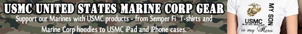 United States Marines shirts and merchandise